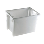 Solid White 600X400X400mm Container