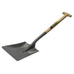 Open Socket No2 Black T Handle Shovel