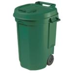 Mobile Green Dustbin 110Ltr 383420