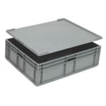 Plastic Lid For 400X300mm Grey