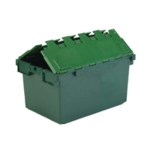 Plastic Container Green Atchd Lid 374370