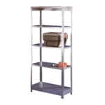 Orange/Zinc Galv 2400x450mm Extra Shelf