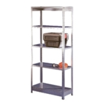 Orange/Zinc Galv 2400x600mm Extra Shelf