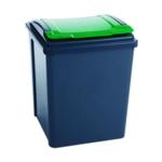 VFM Grey Green 50L Recycling Bin Lid