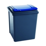 Vfm Grey/Blue Recycling Bin Lid 384290