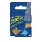 Sellotape Golden 18mm/25M Tape Pk8