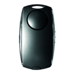 Securikey Personal Alarm Black/Silver