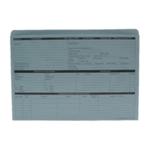 Custom Forms Personnel Wallet Blue Pk50