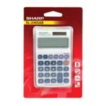 Sharp Hand Held Calc 8-digit EL240SAB
