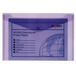 Snopake Purple Elctra Polyfile Pk5 11162