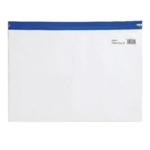 Snopake Zippa-Bag S A4 Blue Pk25