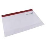 Snopake Zippa Bag S A4 Plus Red Pk25