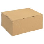 Brown Carton with Lid 305x215x150mm Pk10
