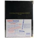 Identibadge Contractor Book Lanyard Set