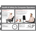 Health/Safety for Computer Users Poster