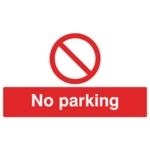 No Parking 300x500mm PVC Sign