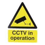 Warning Sign CCTV in Operation 400x300mm