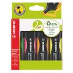 Stabilo Green Boss Highlighter Pen Pk4