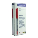 Staedtler Stick Ball Pen Med Red