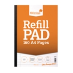 Silvine Punched Refill Pad Sb A4 Pk6