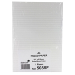 Silvine Ruled Fly Paper 500 Sheet A4