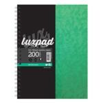 Silvine Luxpad Wirebnd Nbook A4 Plus Pk6