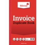 Silvine Duplicate Invoice Book 611 Pk6