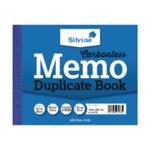 Silvine Duplicate Memo Book 703-T Pk12