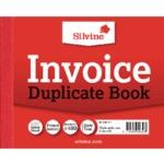 Silvine Duplicate Invoice Book 616 Pk12