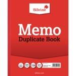 Silvine Duplicate Memo Book 602-T Pk6