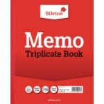 Silvine Triplicate Memo Book 606 Pk6