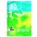 Silvine Prem Wire Notebook A5 Pk5