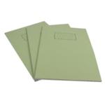 Silvine Green A4 Exercse Book Pk10 EX110