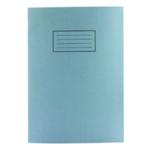 Silvine Blue A4 Plain Exercise Bk EX114