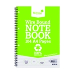 Silvine Everyday Recycled Nbook A4 Pk12