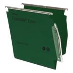 Rexel Crystalfile 15mm Latrl File Grn P2