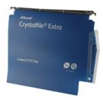 Rexel Crystalfile 30mm Latrl File Blu P2
