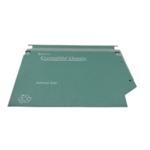 Rexel Crystalfile 30mm Lat File Grn P25