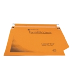 Rexel Crystalfile 50mm Lat File Orge P25