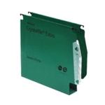 Rexel Crystalfile 50mm Latrl File Gn P50