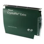 Rexel Crystalfile 50mm Latrl File Grn P2