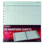 Variform V5 10 Column Cash Refill Pk75