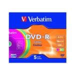 Verbatim DVD-R 16X Non-Print Case 43557