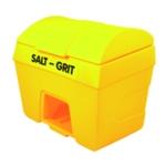 Yellow Salt/Grit Bin/Hopper Feed 400 Ltr