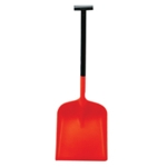 Snowburner Orange Shovel Lg Blade T-Grip