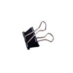 Black 25mm Foldback Clip Pk100 22781