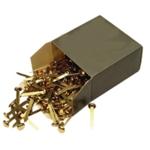 20mm Brass Pointed Paper Fastener Pk200