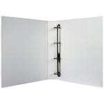 White 25mm Pres 4D-Ring Binder Pk10
