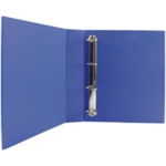 Blue 40mm Pres 4D-Ring Binder Pk10