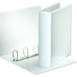White 50mm Pres 4D-Ring Binder Pk10